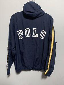 Vintage POLO SPORT Spell Out Ralph Lauren Track Jacket 90s Sz L