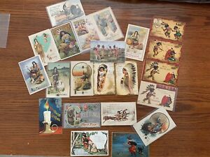 Antique Postcards, Ellen Clapsaddle, Halloween, Valentines day and ETC.