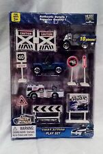 Diecast Swat Team Swat Action 10 Piece Police Force Toy Play Set
