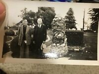 Vintage Kodak Velox Snapshot Photograph Moran Park Anacortes Washington 1952 B&W