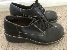Vintage Candies Chunky Goth Grunge Platform Wedge Shoes Women's Size 9