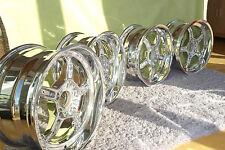 BMW E34 M5 Alufelgen poliert 8&9x17 E32 E31 E28 E34 S38B38 B36 Styling 20 21