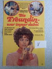V Poster Original Filmplakat DIE FREUNDIN WAR IMMER DABEI Claudia Cardinale