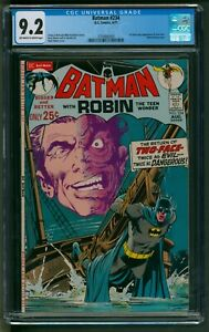 Batman #234 DC Comics CGC NM Minus First Two-Face