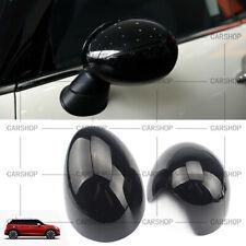 Glossy Black Side Mirror Cover Cap W/O Light For MINI Cooper F54 F55 F56 F57 F60