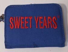 SWEET YEARS PORTAFOGLIO DONNA BLUETTE CON APERTURA A BOTTONE E PORTAMONETE 285f2a75cb2