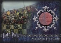 Harry Potter Goblet Fire Update Stadium Banners Prop Card HP P7 #272/425