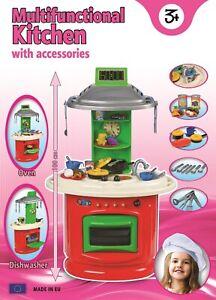 Cuisine  pour enfant avec nombreux accessoires