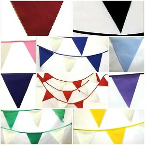 Wedding Bunting * 10 Metres * Cream / Ivory with 10+ colours  Decoration party