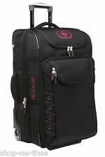 """OGIO Canberra 26"""" Travel Luggage Bag with In-line Skate Wheels Red OGIO Logo New"""