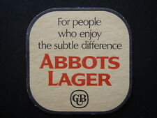 ABBOTS LAGER CUB FOR PEOPLE WHO ENJOY THE SUBTLE DIFFERENCE COASTER