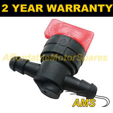 FUEL DIESEL PETROL SHUT/CUT OFF STOP VALVE SWITCH 6MM LAWN MOWER IMMOBILISER