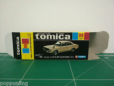 REPRODUCTION BOX for Tomica Black Box No.99 Mazda Luce AP Custom GR II