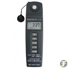 Kewtech kew337 nivel de luz ambiental Medidor Hasta 40000 Lux (4000 FC)