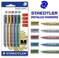 STAEDTLER métal STYLOS MARQUEURS - Lot de 5 stylos - 8323-s BK5
