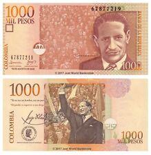 Colombia 1000 pesos 2009 P-456L Billetes Unc