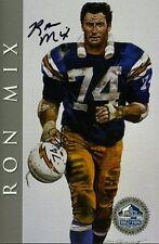RON MIX SIGNED JSA 1998 HOF SIGNATURE SERIES 450/2500