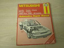 1983-1990 MITSUBISHI CORDIA TREDIA PRECIS MIRAGE GALANT HAYNES REPAIR MANUAL