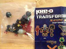 KREO TRANSFORMERS Botcon 2013 KREON HOIST MACHINE WARS exclusive MISB KRE-O