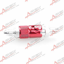 AN3 3AN -3 AN Brake Fluid Quick Release Fitting Adapter Male Red
