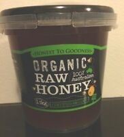 ORGANIC Raw Honey 1.5kgs Organic honey-  Organic Honey ACO Product- Pure Honey