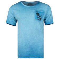 Khujo Herren T-shirt Tommy 2183sh171 M Lagoon (hellblau)