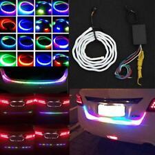 120cm LED Car RGB Strip Rear Trunk Tail Lights Dynamic Streamer For Brake&Turn