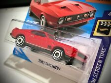 Mattel Hot Wheels Ford Mustang Mach 1 1971 1:64 2019 DIAMONDS ARE FOREVER 007