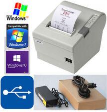 USB EPSON TM-T88IV KASSENDRUCKER BELEGDRUCKER WINDOWS XP 2000 7 8 10 #88-6