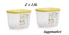 TUPPERWARE Fridgesmart Ventsmart Fridge Storage Containers 2x 1.8L High, Offer