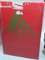 Vintage Department 56 Santa Claus In the Spirit Climbing Chimney Retired Rare!