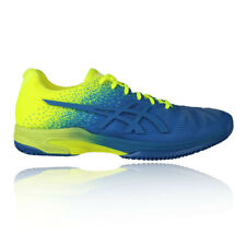 Asics Mens Gel-Solution Speed FF L.E Tennis Shoes Blue Green Sports Breathable