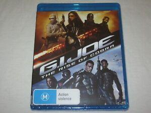 GI Joe - The Rise Of Cobra - Brand New & Sealed - Region B - Blu Ray