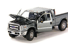 "Ford F250 Crew Cab 6 Ft Bed - ""GRAY"" - Chrome Wheels - 1/50 - Sword #SW1200A"