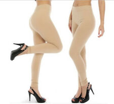 Thick Warm Nude Colour Leggings for Women and Girls 12+ Winter Pants Beige
