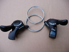 GEAR SHIFTERS SHIMANO 6 Speed Thumb Trigger Rear Indexed Front Friction SL-TX30