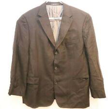Hugo Boss Mens Sport Coat Suit Jacket Black SZ 46R