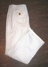 Bianca Nygard Size 14 Womens White Straight Leg Pants