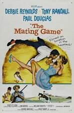 MATING GAME Movie POSTER 27x40 Tony Randall Debbie Reynolds Paul Douglas Una