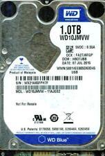 WD10JMVW-11AJGS2,  HB0TJBB  USB 3.0   WESTERN DIGITAL SATA 1TB  WX21  JUL 2015