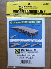 Blair Line HO  Laser Cut Wood Loading Ramp Kit #174 Bob The Train Guy