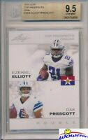 2016 Leaf Dak Prescott & Ezekiel Elliott FIRST EVER DUAL ROOKIE BGS 9.5 GEM MINT