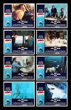 Jaws ✯ CineMasterpieces Original Movie Poster Lobby Card Set Shark Horror 1975
