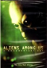 Aliens Among Us : 2 Documentary Set - UFO's , Alien Abductions , Government Cove