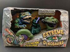 Street Sharks Extreme Dinosaurs T-Bone and Dino Chopper never been removed