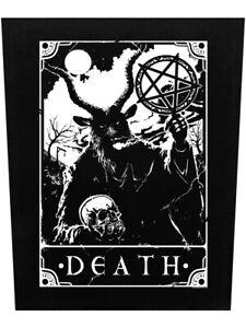 Deadly Tarot Back Patch Death Black 29.5x36cm