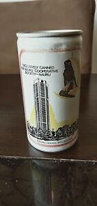"""COURAGE DRAUGHT's """"NAURU HOUSE, MELBOURNE"""" - MID-1970's - VERY RARE BEER CAN"""