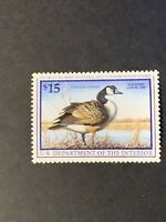 US Federal Duck Stamp Scott# RW64 $15 1997 Migratory Bird Hunting MNH. (I15).
