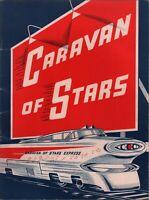 THE SUPREMES / GENE PITNEY 1963 DICK CLARK CARAVAN OF STARS TOUR PROGRAM BOOK