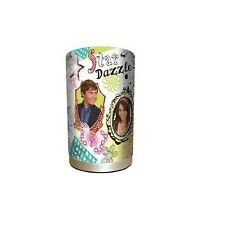 HIGH SCHOOL MUSICAL SCRIBBLE STAR DAZZLE MATEL & FABRIC BEDSIDE TABLE LAMP
